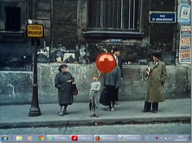 Film : Le ballon rouge
