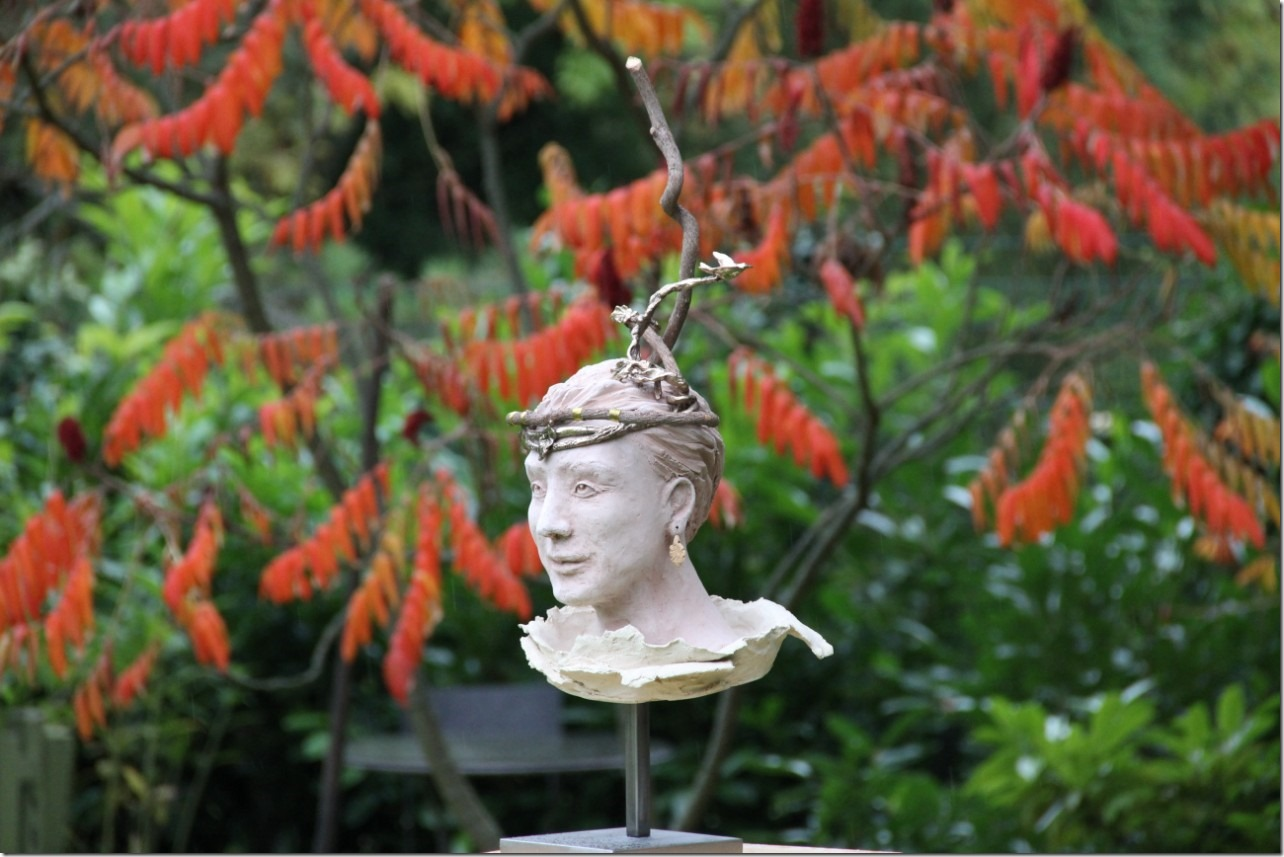 Légende celtique, sculpture de  l'artiste marielauterre